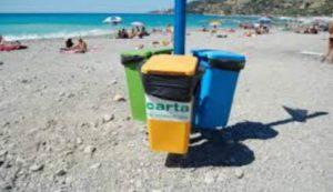 differenziata spiaggia