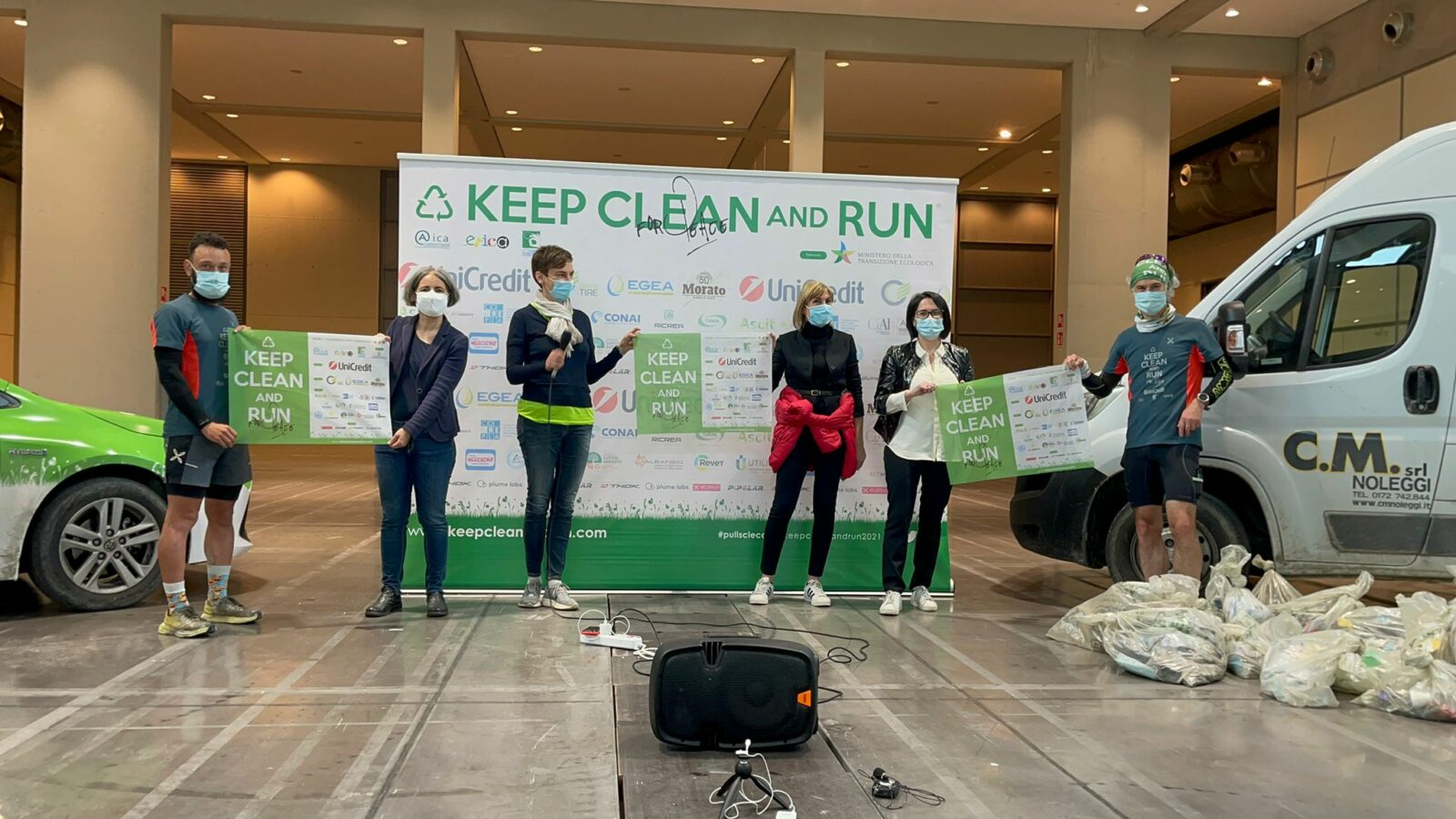 Concluso ieri Keep Clean and Run 2021, l'evento di lancio di Let's Clean Up Europe!
