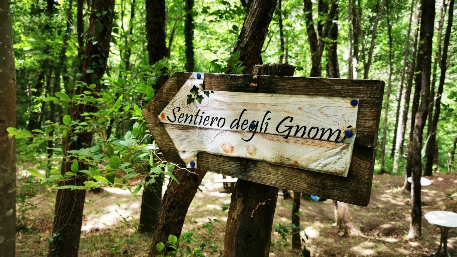 Il sentiero degli gnomi, un percorso nel verde per educare