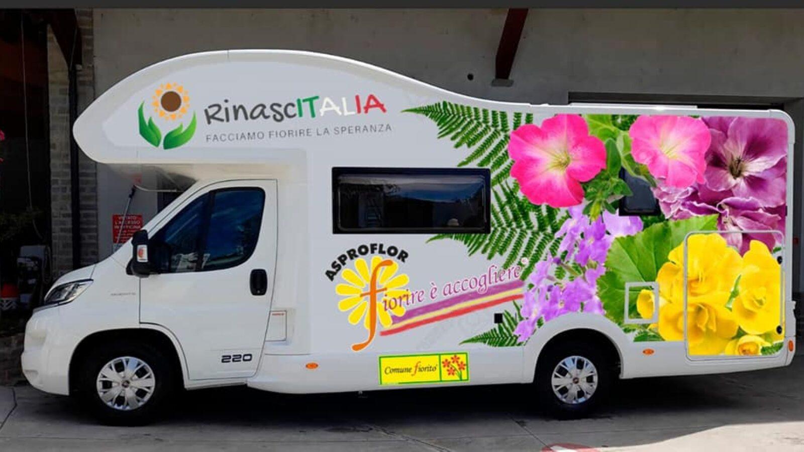 Un tour di 9000 chilometri per RinascITALIA – Facciamo fiorire la speranza